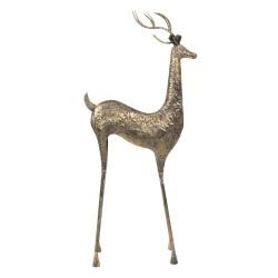 Duża Figura Ozdobna Jeleń Metalowy A Clayre & Eef