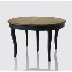 Granatowy Stół w Stylu Prowansalskim Salini Rozkładany