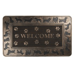 Wycieraczka Welcome z Psami