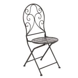 Metalowe Krzesła w Stylu Prowansalskim 2szt.