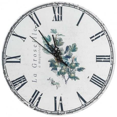 Jasny zegar z motywem agrestu