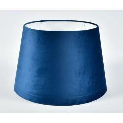 Abażur Belldeco Stożek Plusz Niebieski