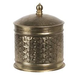 Metalowy Pojemnik Okrągły B Clayre & Eef