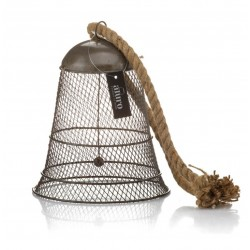 Metalowy Dzwonek Vintage Aluro Carmelo