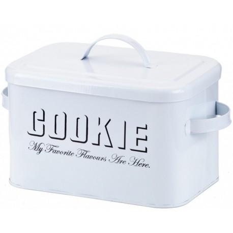 Jeden metalowy pojemnik wystarczy, by w Twoim domu zawsze znalazło się miejsce na kruche ciasteczka.