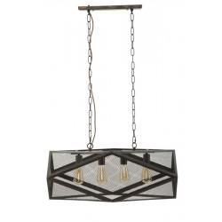 Lampa w Stylu Industrialnym Manhattan Podłużna