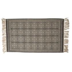Bawełniany Dywanik z Frędzlami K
