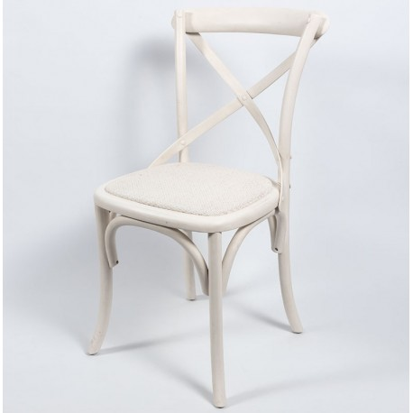 Krzesło Belldeco Białe Bari