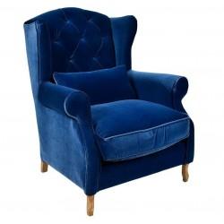 Fotel Belldeco Classic Blue Pikowany 2