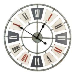 Zegar Metalowy Loftowy 1