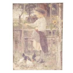 Obraz Na Jucie Kwiaty i Owoce A