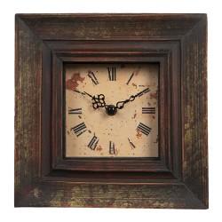 Zegar Vintage Kwadratowy