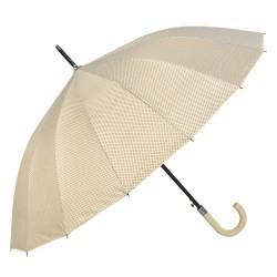 Parasolka w Kropki Granatowa z Obwódką
