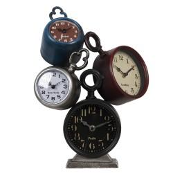 Zegar Stojący Retro Poczwórny