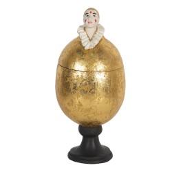 Jajo Ozdobne Otwierane Złote