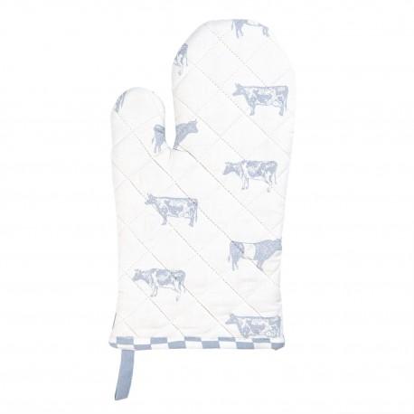 Rękawica Kuchenna w Stylu Prowansalskim z Krowami A
