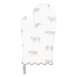 Rękawica Kuchenna w Stylu Prowansalskim z Krowami B