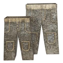 Metalowe Osłonki Spodnie 2szt. A