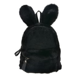 Plecak Dziecięcy Królik Czarny
