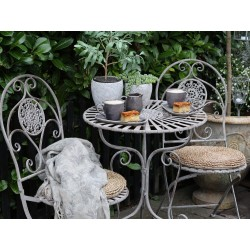 Meble Ogrodowe Chic Antique Stolik z Krzesłami Clayre & Eef