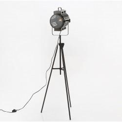 Lampa Podłogowa w Stylu Industrialnym Reflektor