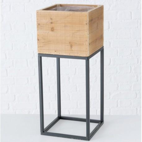 Metalowy Kwietnik Loft A
