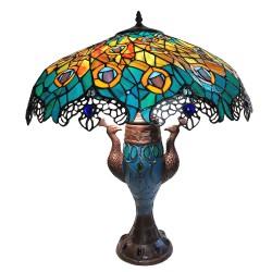 Lampa Tiffany stołowa duża 9