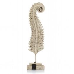 Rzeźba Aluro Calea Liść Paproci
