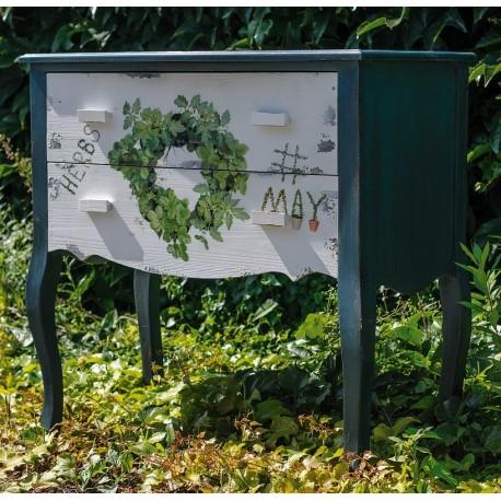 Garden Green Komoda z Szufladami Zioła Belldeco