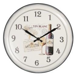 Zegar z Winem Metalowy