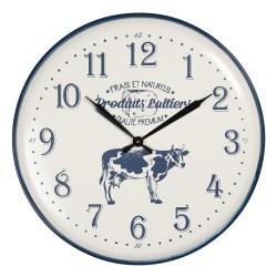 Zegar z Krową Metalowy