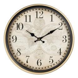 Zegar Ścienny z Mapą B