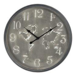 Zegar Ścienny z Mapą C