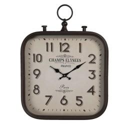 Zegar w Stylu Retro Kwadratowy A