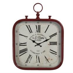 Zegar w Stylu Retro Kwadratowy B