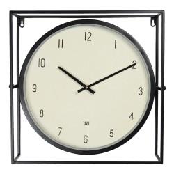 Zegar w Metalowej Ramie