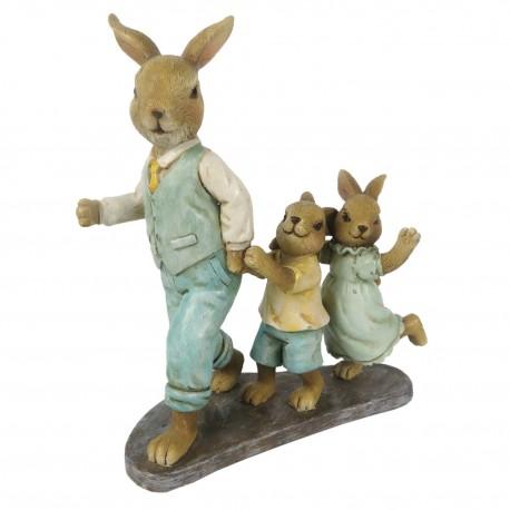 Figurka Wielkanocna Zajączki C