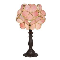 Lampa Stołowa Tiffany Kwiatki Róż