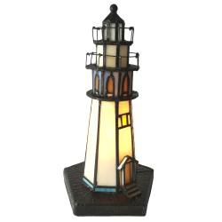 Lampa Stołowa Tiffany Latarnia