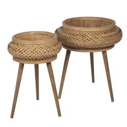 Bambusowe Kwietniki 2szt.