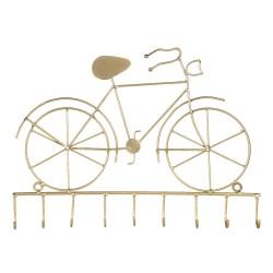 Złoty Wieszak Ścienny Rower