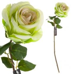 Sztuczna Róża Zielona Aluro