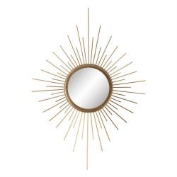 Lustro w Złotej Ramie Słońce Clayre & Eef