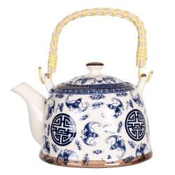 Porcelanowy Dzbanek w Stylu Japońskim H