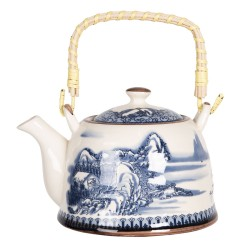 Porcelanowy Dzbanek w Stylu Japońskim L