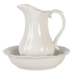 Ceramiczna Mydelniczka Okrągła