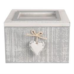 Drewniane Pudełko Na Herbatę C