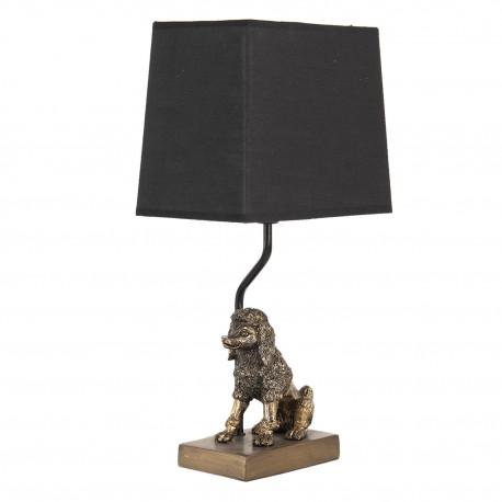 Lampa Stołowa z Białym Abażurem B