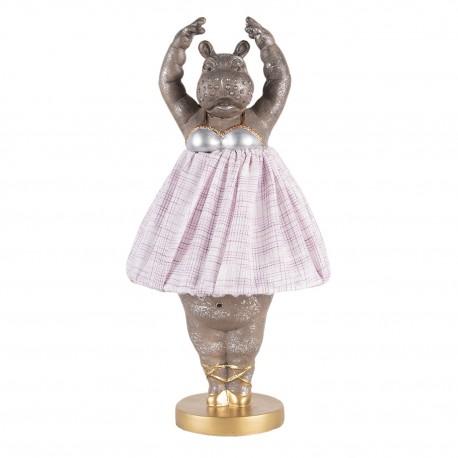Lampa Stołowa Ze Słoniem Złota B