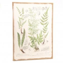 Obraz w Stylu Prowansalskim Na Jucie z Roślinami B